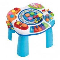 Bàn Nhạc Thông Minh 2in1 - Winfun Letter Train And Piano Activity Table